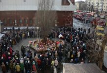 Российские храмы проведут поминальные службы по жертвам трагедии в Кемерово