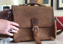 Как кожаные сумки «Saddleback leather» помогают служить людям