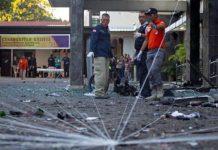 Три церкви в Индонезии взорвали члены одной семьи